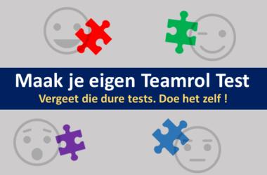 teamchange teamoefening de eigen teamroltest