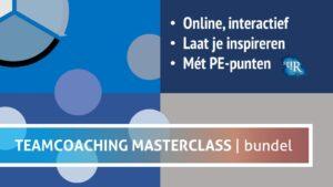 Alle vier de masterclasses van Teamchange in één voordelige bundel - Teamcoaching leer je ook online