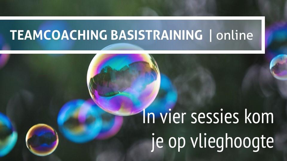 In vier sessies heb je een mini leergang teamcoaching te pakken. Online