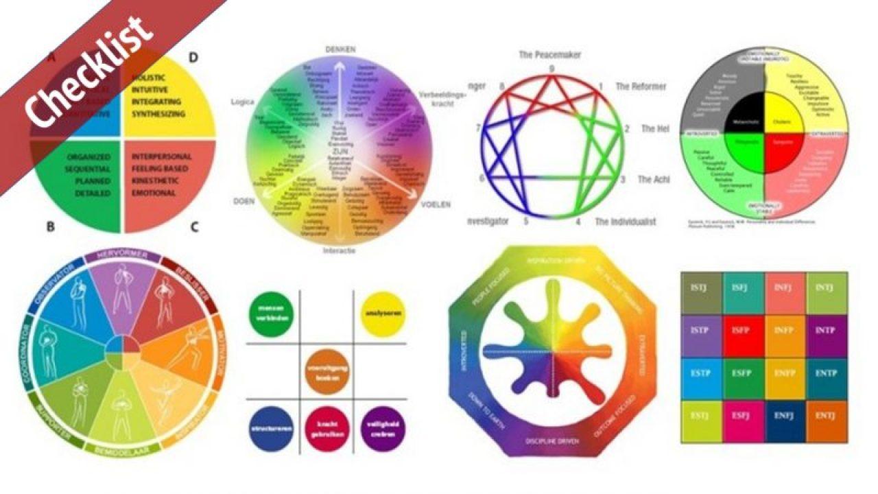 Veel teamroltesten gebruiken kleuren - erg verwarrend